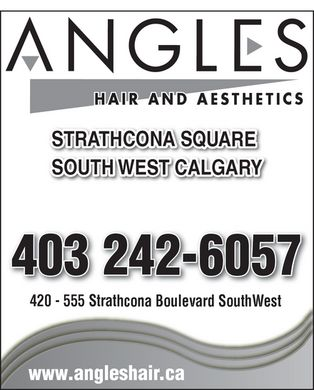 Hairdressers & Beauty Salons in AB. Directory. Calgary. Angles