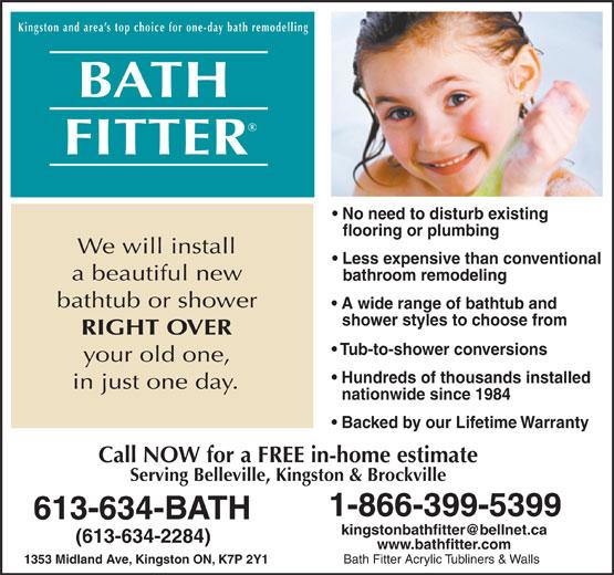 Acrylic Bathtub Liners Ala Bathfitter Bathroom Design