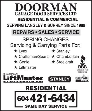 Toronto Garage Doors | Garage Door Installation, Repairs & Openers