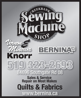 The SoundBox - Sewing Machines
