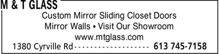 M & T Glass (613-745-7158) - Annonce illustrée======= - www.mtglass.com Mirror Walls * Visit Our Showroom Custom Mirror Sliding Closet Doors www.mtglass.com Mirror Walls * Visit Our Showroom Custom Mirror Sliding Closet Doors www.mtglass.com Mirror Walls * Visit Our Showroom Custom Mirror Sliding Closet Doors www.mtglass.com Mirror Walls * Visit Our Showroom Custom Mirror Sliding Closet Doors www.mtglass.com Mirror Walls * Visit Our Showroom Custom Mirror Sliding Closet Doors www.mtglass.com Mirror Walls * Visit Our Showroom Custom Mirror Sliding Closet Doors