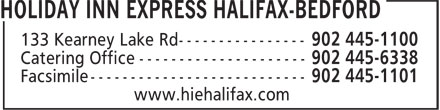 Holiday Inn Express (902-445-1100) - Annonce illustrée======= -