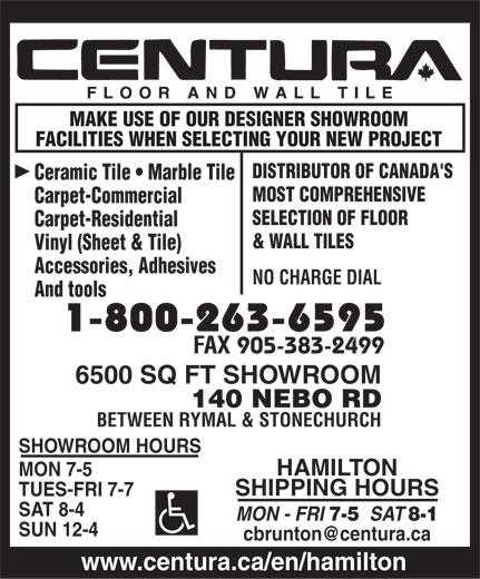 Centura Floor And Wall Tile 140 Nebo Rd Hamilton On