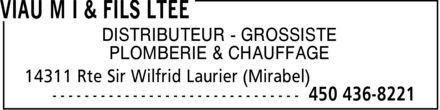 Viau M I & Fils Ltée (450-436-8221) - Annonce illustrée======= - DISTRIBUTEUR GROSSISTE PLOMBERIE & CHAUFFAGE DISTRIBUTEUR GROSSISTE PLOMBERIE & CHAUFFAGE DISTRIBUTEUR GROSSISTE PLOMBERIE & CHAUFFAGE DISTRIBUTEUR GROSSISTE PLOMBERIE & CHAUFFAGE DISTRIBUTEUR GROSSISTE PLOMBERIE & CHAUFFAGE DISTRIBUTEUR GROSSISTE PLOMBERIE & CHAUFFAGE DISTRIBUTEUR GROSSISTE PLOMBERIE & CHAUFFAGE DISTRIBUTEUR GROSSISTE PLOMBERIE & CHAUFFAGE DISTRIBUTEUR GROSSISTE PLOMBERIE & CHAUFFAGE