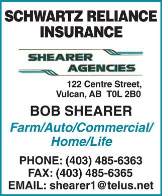 Shearer Agencies (403-485-6363) - Annonce illustrée======= -
