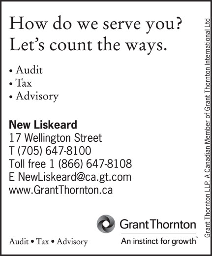 Grant Thornton (705-647-8100) - Display Ad -