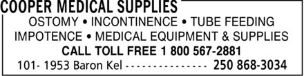 Ads Cooper Medical Supplies