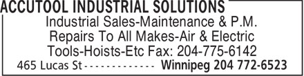 Ads Accutool Industrial Solutions