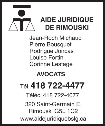 Ads Aide Juridique de Rimouski