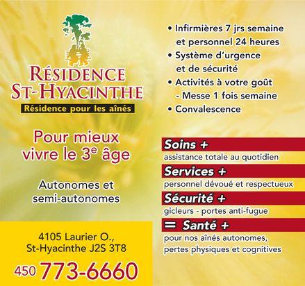 R sidence st hyacinthe 4105 boul laurier o saint for Porte et fenetre quebecoise st hyacinthe