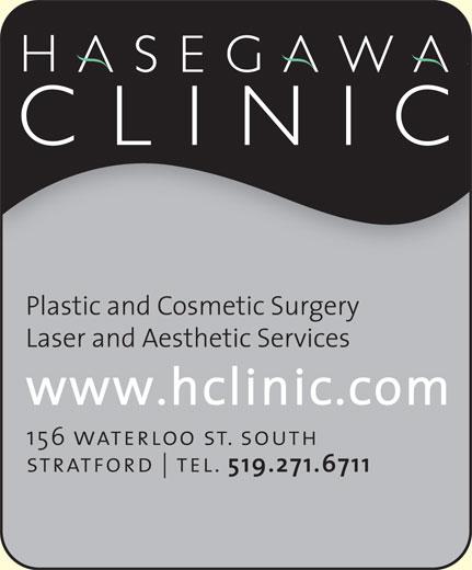 Hasegawa Clinic (519-271-6711) - Display Ad -