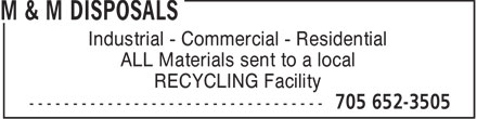 Ads M&M Disposals
