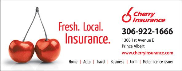 Cherry Insurance Northern (306-922-1666) - Display Ad -