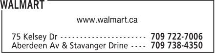 Walmart (709-722-7006) - Annonce illustrée======= - www.walmart.ca