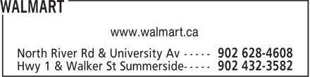 Walmart (902-628-4608) - Annonce illustrée======= - www.walmart.ca
