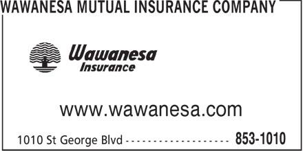 Wawanesa Mutual Insurance Company (506-853-1010) - Annonce illustrée======= - www.wawanesa.com