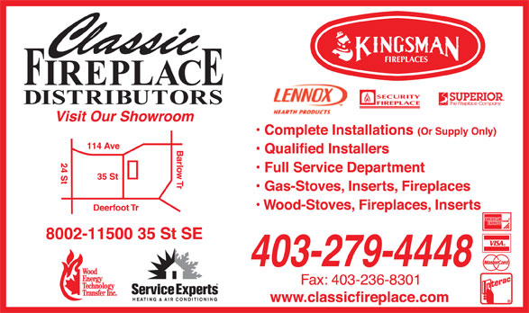 Ads Classic Fireplace Distributors