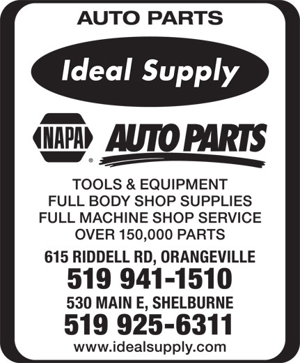 ideal supply company ltd - orangeville  on
