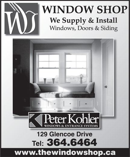 The Window Shop (709-364-6464) - Display Ad -