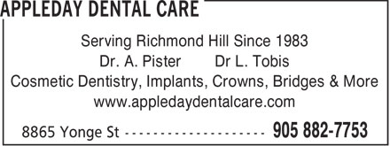 Ads Appleday Dental Care