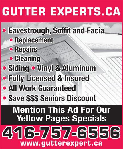 Gutter Expert Inc 85 Tiago Ave East York On