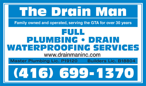 how to become a master plumber in ontario