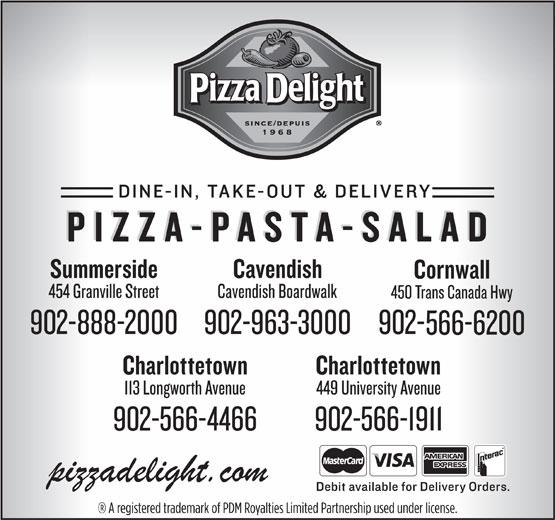 Pizza Delight (902-566-1911) - Display Ad -