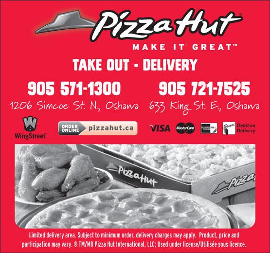 Pizza Hut (905-571-1300) - Annonce illustrée======= -