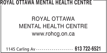 Royal Ottawa Mental Health Centre (613-722-6521) - Annonce illustrée======= - ROYAL OTTAWA MENTAL HEALTH CENTRE www.rohcg.on.ca  ROYAL OTTAWA MENTAL HEALTH CENTRE www.rohcg.on.ca  ROYAL OTTAWA MENTAL HEALTH CENTRE www.rohcg.on.ca  ROYAL OTTAWA MENTAL HEALTH CENTRE www.rohcg.on.ca  ROYAL OTTAWA MENTAL HEALTH CENTRE www.rohcg.on.ca  ROYAL OTTAWA MENTAL HEALTH CENTRE www.rohcg.on.ca