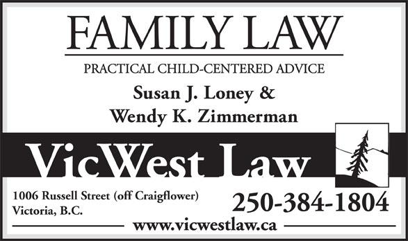 Vic West Law (250-384-1804) - Annonce illustrée======= -