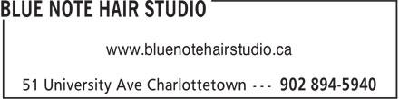 Blue Note Hair Studio (902-894-5940) - Annonce illustrée======= - www.bluenotehairstudio.ca