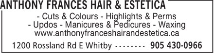 Ads Anthony Frances Salon Estetica