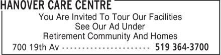 McVean Lodge (519-364-3700) - Display Ad -