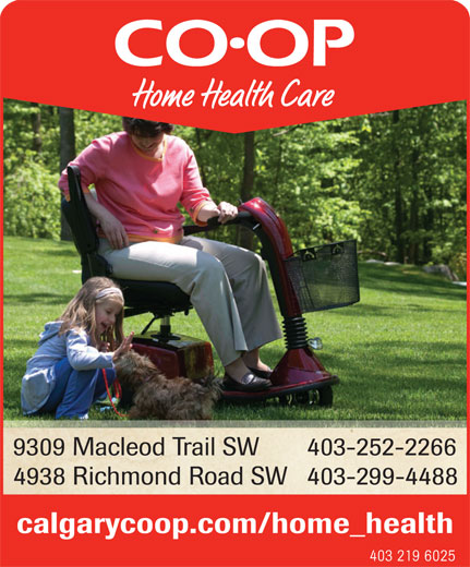 Co Op Home Health Care Calgary