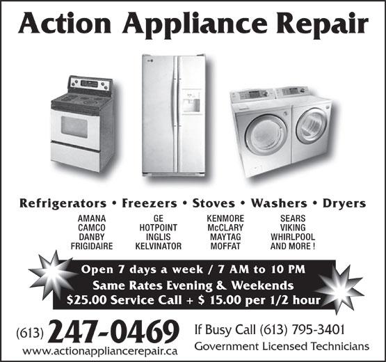 Refrigeration Action Refrigeration Appliance Repair