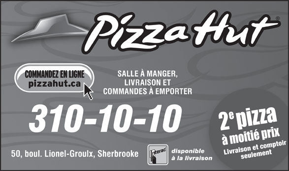 Pizza Hut (310-1010) - Display Ad -