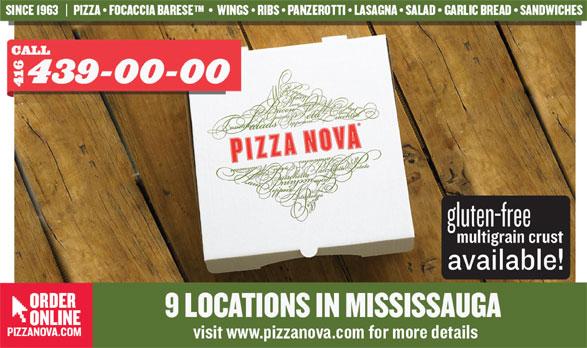 Pizza Nova (416-439-0000) - Display Ad -