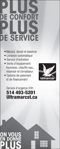 Ultramar (514-493-5201) - Display Ad -