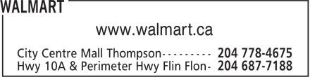 Walmart (204-778-4675) - Display Ad - www.walmart.ca