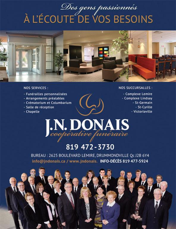 Ads Centre Funeraire J N Donais