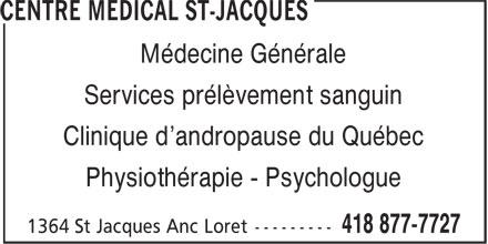 Ads Centre Medical St-Jacques