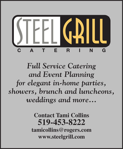 Ads Steel Grill Catering Co