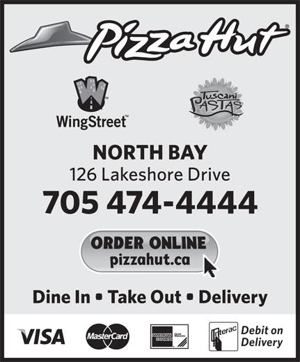 Pizza Hut (705-474-4444) - Display Ad -