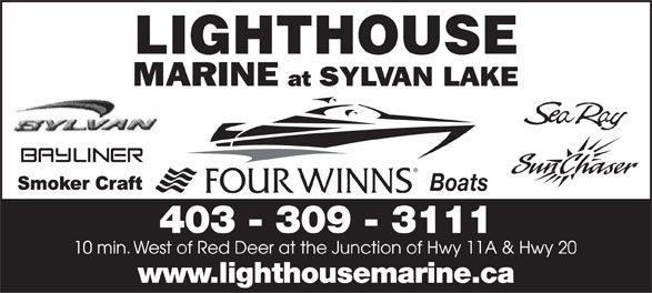 Lighthouse Boat Sales Inc (403-309-3111) - Annonce illustrée======= - Boats 403 - 309 - 3111 www.lighthousemarine.ca