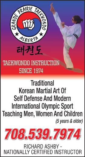 Ads Grande Prairie Taekwondo School