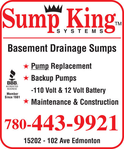 Ads Sump King Systems