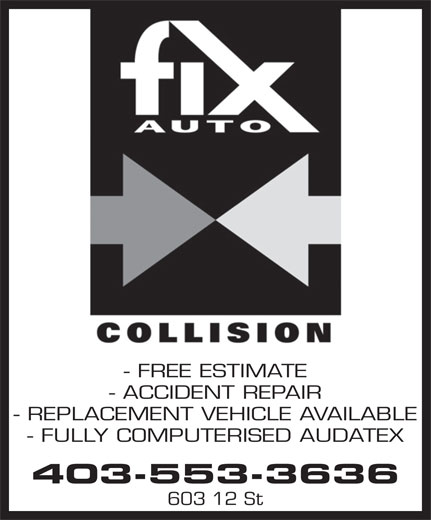 L F Truck Centre (403-553-3636) - Annonce illustrée======= - - FREE ESTIMATE - ACCIDENT REPAIR - REPLACEMENT VEHICLE AVAILABLE - FULLY COMPUTERISED AUDATEX 403-553-3636 603 12 St
