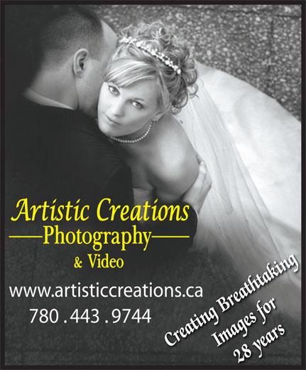 Artistic Creations (780-489-8741) - Annonce illustrée======= - www.artisticcreations.caons.ca 780 . 443 . 9744