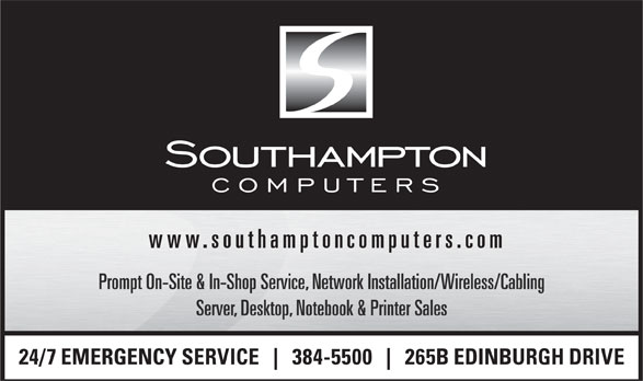 Southampton Micro Computers (506-384-5500) - Display Ad -