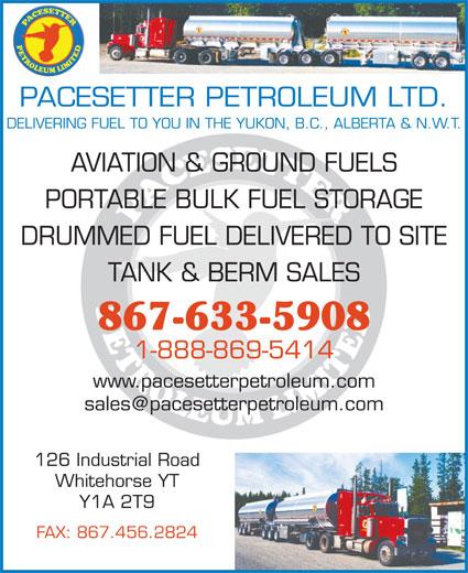 Ads Pacesetter Petroleum Ltd